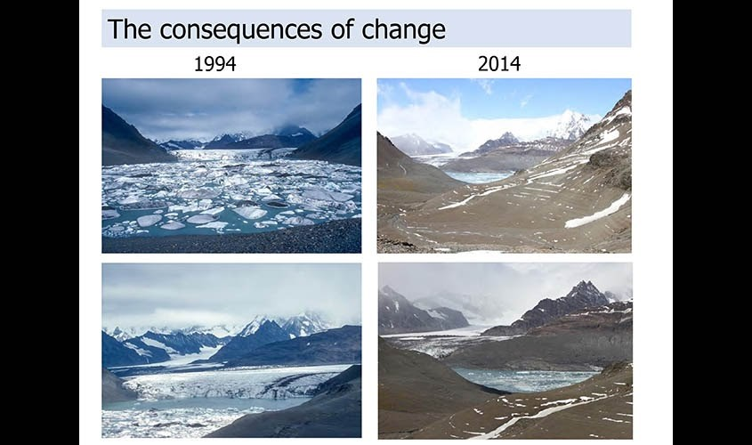 Why are glaciers important