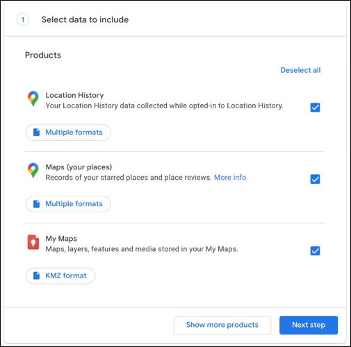 How to change the file formate of Google Maps