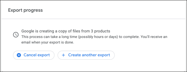Create Another Export