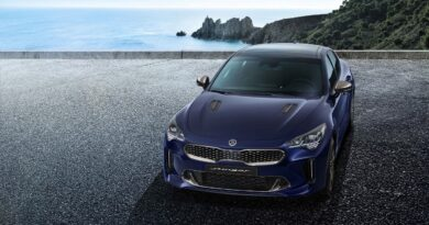 KIA COMES UP WITH STINGER A 300HP CAR GIVING OUT 30MPH
