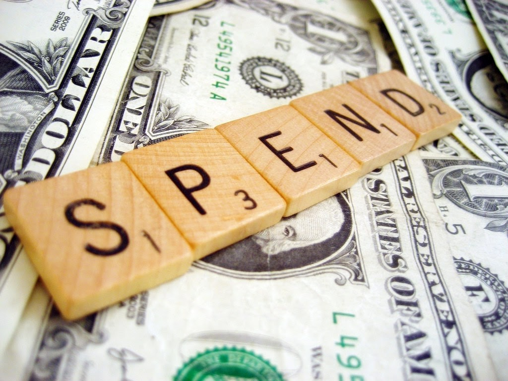 Stop spending extra than you earn