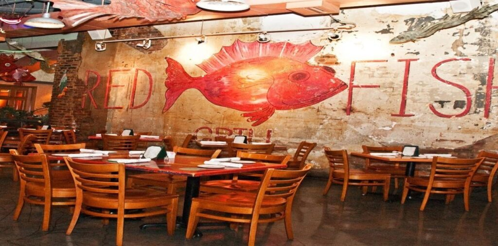 Red Fish Grill: New Orleans