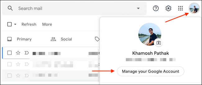 How to manage your Google Account