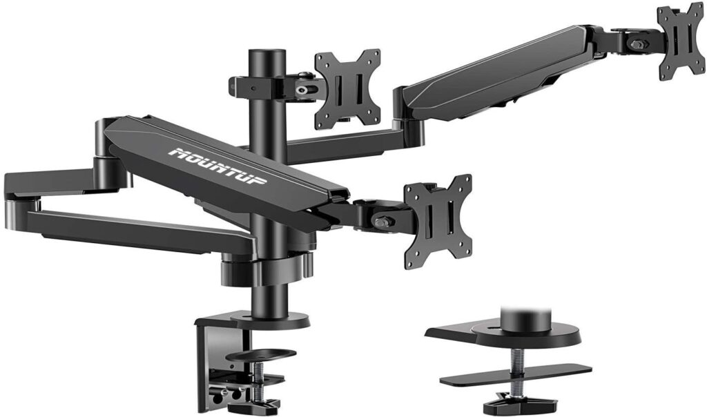 Mount Up Triple Monitor Stand
