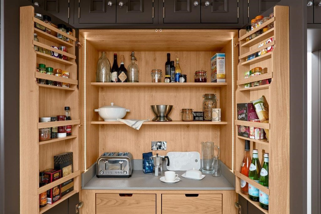 Consider a pantry or larder