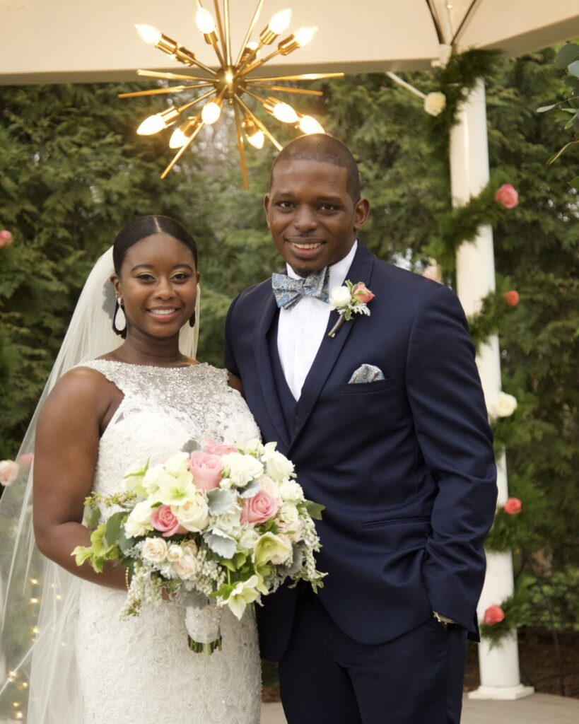 Deonna McNeill and Gregory Okotie